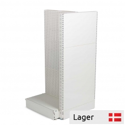 Gondola head shelving without base, WHITE