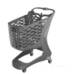 City Shopping Trolley 90 liters, with child seat