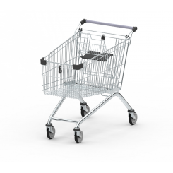 Shopping Trolley GE S without bottom tray