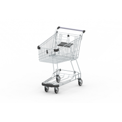 Shopping Trolley GE BTC with bottom tray
