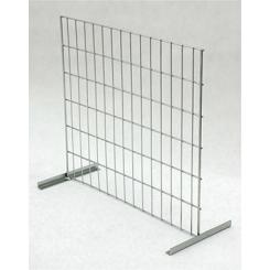 Divider for EUR-pallet wire mesh frame