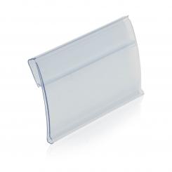 Label holder H39, with fl. hinge, for Multiline
