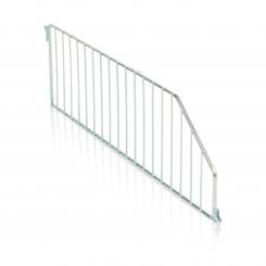 Divider for wireshelf - slant front