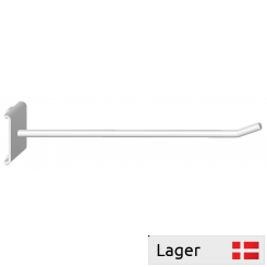 Single hook for pegboard 9,5x9,5mm, spacing 38mm c/c