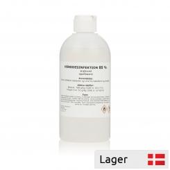 Disinfection liquid 85%, 500ml. bottle