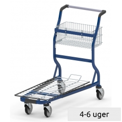 Transport and shopping trolley
