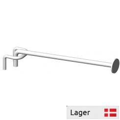 Single hook for 6mm bar, with Ø27 price plate