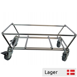 Trolley for shopping baskets 16-28 litres
