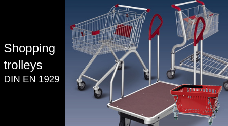 Platform trolleys, shopping trolleys and shopping baskets at competitive prices