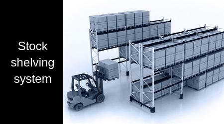 Stock shelving system / High rack system